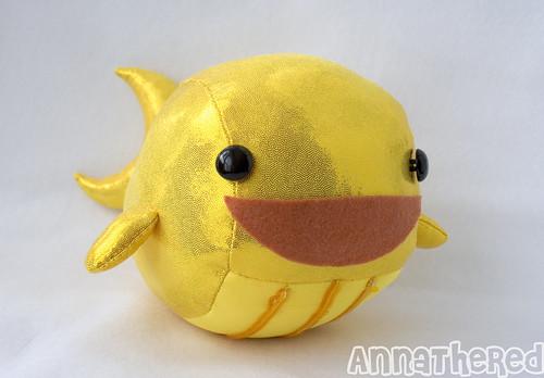 Golden Whale from BattleBlock Theater
