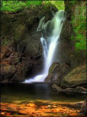 @ The World's End (angus clyne) Tags: summer sunshine scotland waterfall perthshire packhorsebridge flikcr glenlyon colorphotoaward