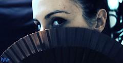 (LaKry*) Tags: portrait eye girl fifties hide ritratto ragazza nascosto kry fanwise virgiliocompany