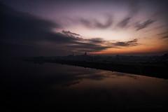 (5y12u3k) Tags: winter reflection river dusk poland vistula tczew 5y12u3k sylwekeu