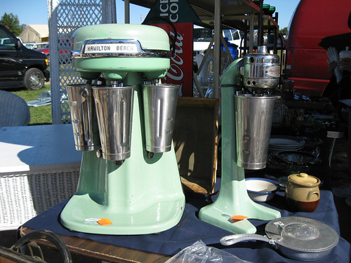 Milkshake makers.
