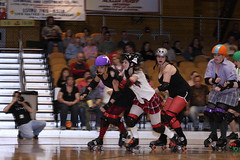 Albany All Stars115 (chimpmitten) Tags: rollerderby albany albanyny albanyallstars