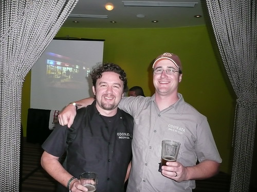 Rick Sellers & Peter Hoey of California's Newest Brewery, Odonata Brewing