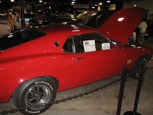 Floyd Garret Muscle Car Museum Boss 429 Mustang