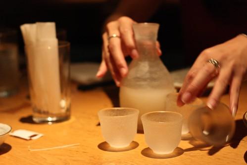 Sake at Yuian