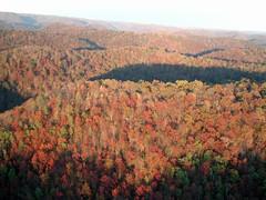 Appalachian mountain before mountain-top removal