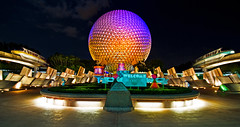 EPICOT! (Tom.Bricker) Tags: travel vacation colors architecture america photoshop landscape orlando epcot nikon colorful raw technology unitedstates florida wideangle august di