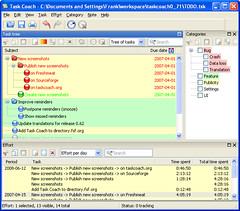 0.71.2-Windows_XP-Tasks_categories_and_effort