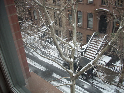 West Village snow