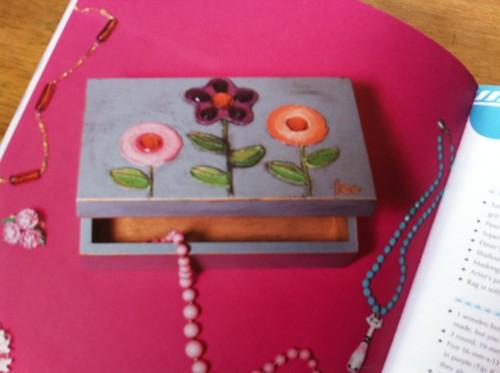 Lara Bobo's Antiqued Jewelry Box