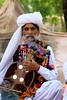 © All rights reserved. The old baloch singer, a man in tradition clothes from Balochistan, Pakistan by Engineer J