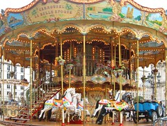 French Carousel by Danalynn C