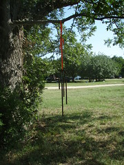 Metal Windchimes made at Paije's Art Garden Workshop (a3rynsun) Tags: art metal windchimes