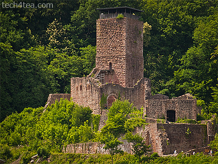 Another of four castles in Neckarsteinach, taken with an Olympus E450