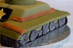 Military Tank Cake - 7