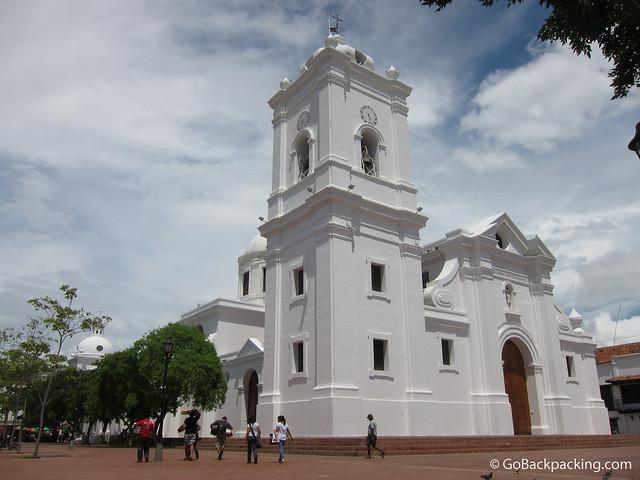 Church in Santa Marta