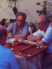 tavli. (rotating) Tags: cyprus backgammon tavli klirou