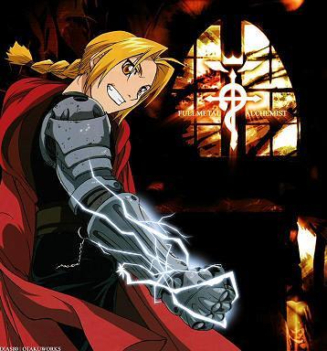 аниме fullmetal alchemist: