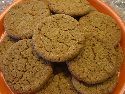 Best gingersnaps I ever made.