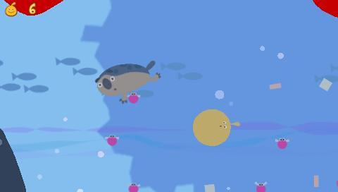 LocoRoco2 screenshot swim2