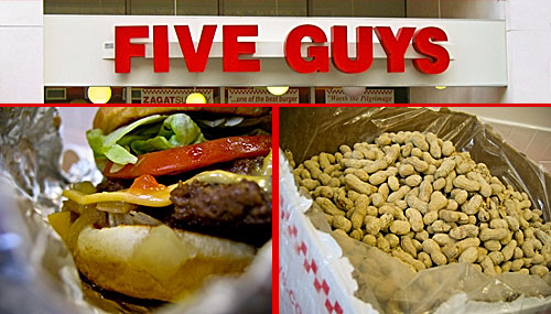 Five Guys, Oak Park, IL