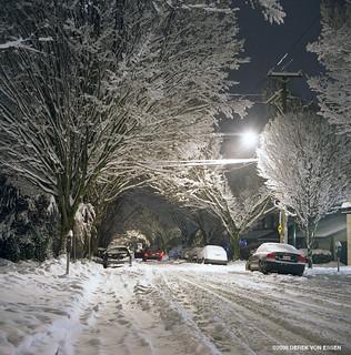Snow Storm on Trafalgar Street #12