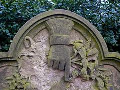 Hand of God (Tim Green aka atoach) Tags: cemetery grave hand yorkshire edgerton huddersfield
