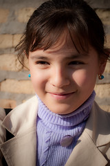 Uzbekistan-504 (Kelly Cheng) Tags: travel people color colour heritage tourism girl vertical museum daylight colorful asia child outdoor culture vivid sunny silkroad colourful persons uzbekistan centralasia khiva ichonqala silkroute xiva khorezm itchankala