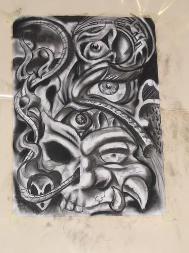 Alchemy Tattoo Expo @ Conthey '05