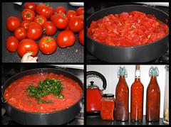 Home-grown & made Tomato Sauce