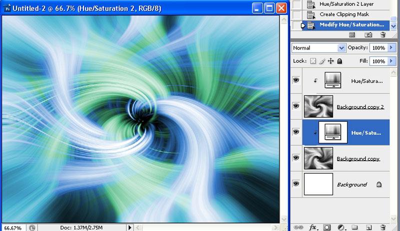Photoshop Tutorial : Swirls and Twirls with Filters | TAZ