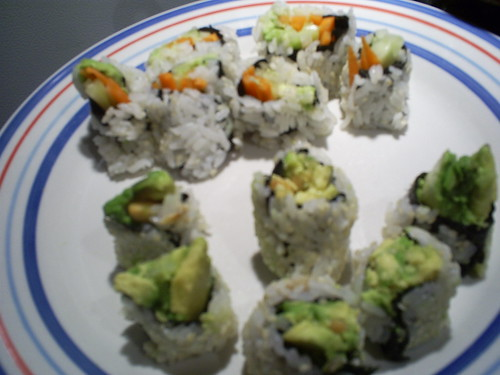 Veggie and Buddha Rolls