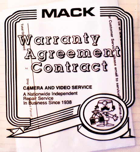 Mack Camera, A Good Place for a Camera Warranty