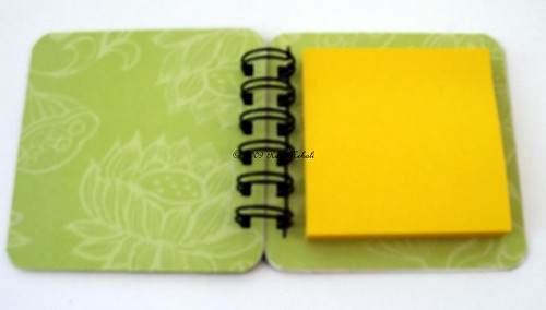 Amy Butler Post It Note Holder