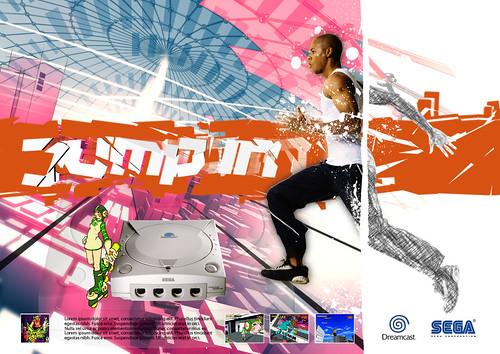 Sega Dreamcast ad: Jump in #1 - Jet Set Radio