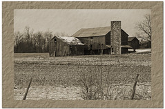 Back in time... (tbower) Tags: nikon farm d90 photoshopelements7