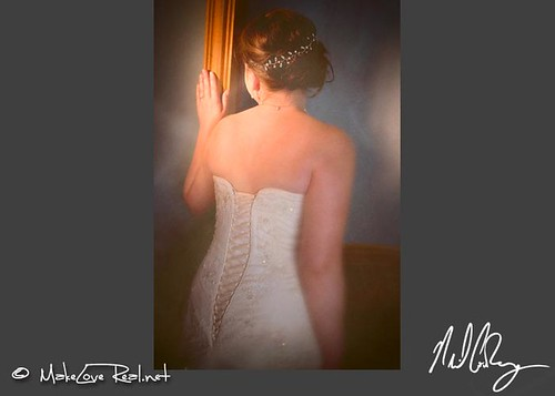 Vintage style fashion bridal portrait North Carolina