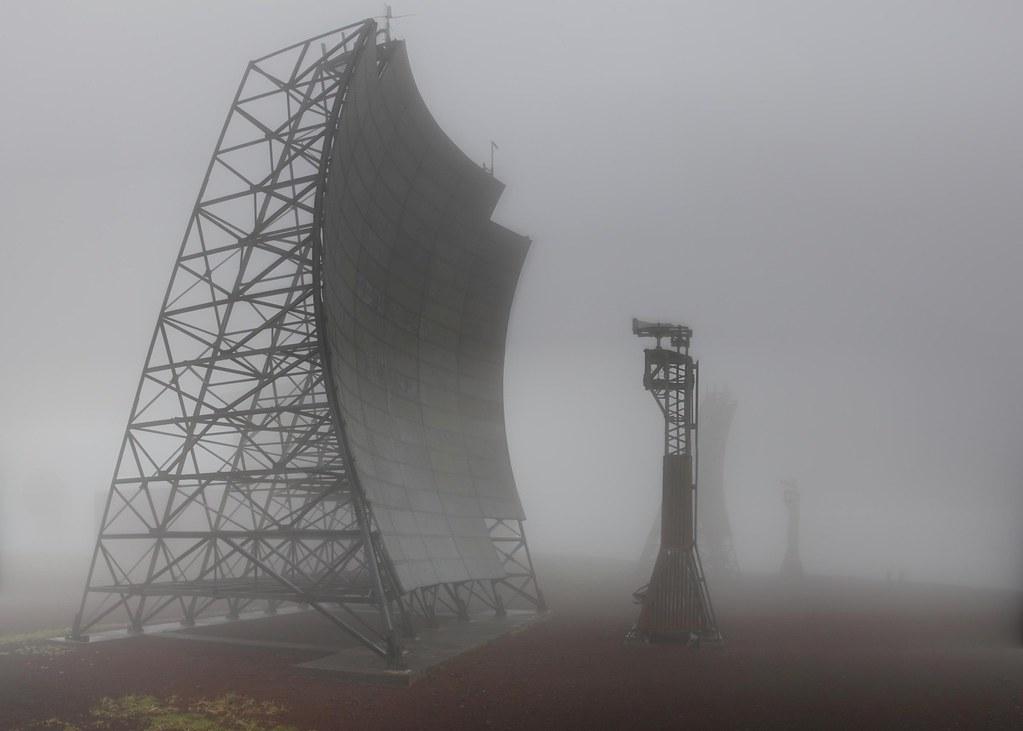 Abandoned Aleutian White Alice Site