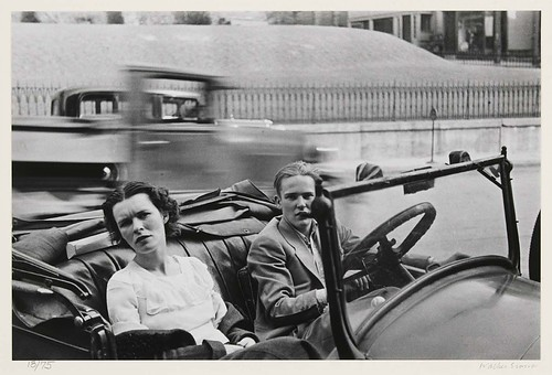 Walker Evans: Main St. Ossining, New York (Couple in Car),