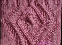 Eglantine socks - close-up