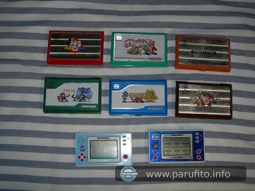 Colección de Game&Watch