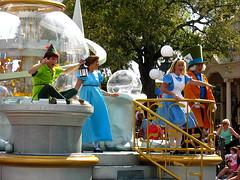 Celebrate A Dream Come True Parade (disneylori) Tags: alice peterpan disney disneyworld characters wdw waltdisneyworl