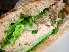 non-WF tuna sandwich. photo by Lara604 via creative commons