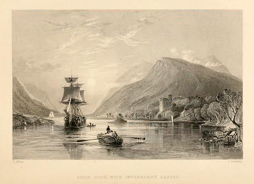 012- Lago Oich con el castillo de Invergarry