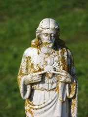 The Sacred Heart of Jesus (sgrace) Tags: california church cemetery statue delete10 delete9 delete5 delete2 catholic heart delete6 delete7 religion jesus delete8 delete3 delete delete4 save sacred sanjuanbautista delete4eternity