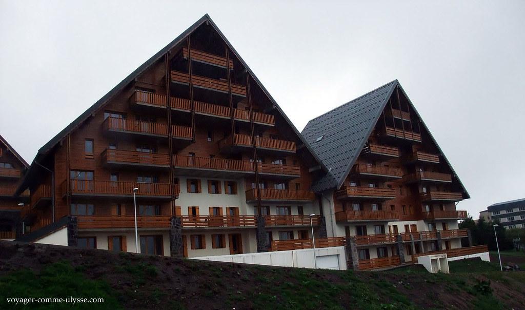 Grandes chalés, casas de montanha, novos à estrear