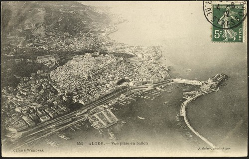 View of Algiers from a Balloon (GRI)