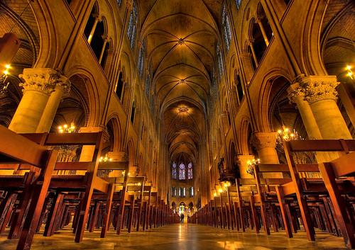 Cathédrale Notre-Dame, París, France