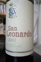 2001 San Leonardo Marchese Carlo Guerrieri Gonzaga