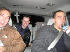 Entourage: Matt Little, Kevin McCaffrey, J-L Cauvin
